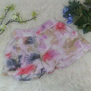 A&E Floral Shorts